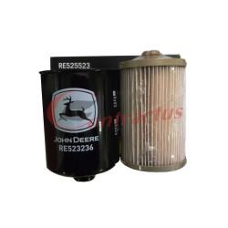 Zestaw filtrów paliwa John Deere RE525523