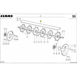 Blacha odrzutnika Claas 0005546970
