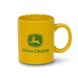 Żółty kubek John Deere