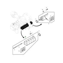 AXE12142 Pompa hydrauliczna