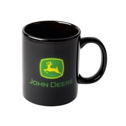 Kubek czarny z zielonym logo John Deere MCV201802001