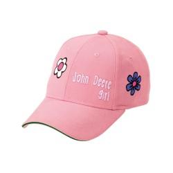 Czapka różowa John Deere MCJ099399051