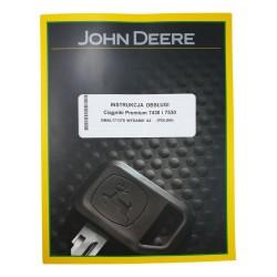 Instrukcja obsługi John Deere 7430-7530