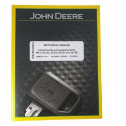 Instrukcja obsługi John Deere M724-740, 724i-740i
