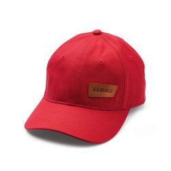 Czerwona czapka CLAAS 00 0253 490 0