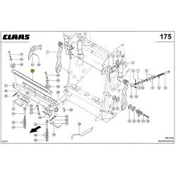 Stalnica do kukurydzy CLAAS 0004952744
