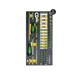 Zestaw narzędzi z pianką Eva MCKT9A2502M