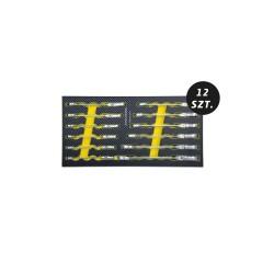 Zestaw przegubowych kluczy płasko-oczkowych z grzechotką MCKT9A12001M