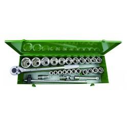 Zestaw kluczy nasadowych 3,4'' John Deere MCKTA6503M